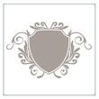 wappen logo schnörkel - 22813634