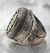 Turkish tribal ring