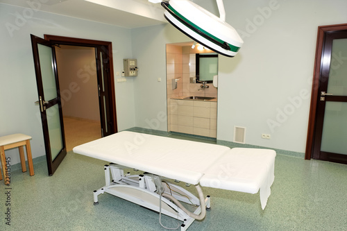 Modern clinical interior