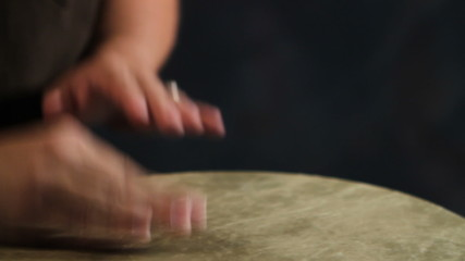 Drumming Djembe