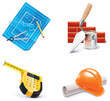 Vector Homebuilding & Renovating icon set. Part 3