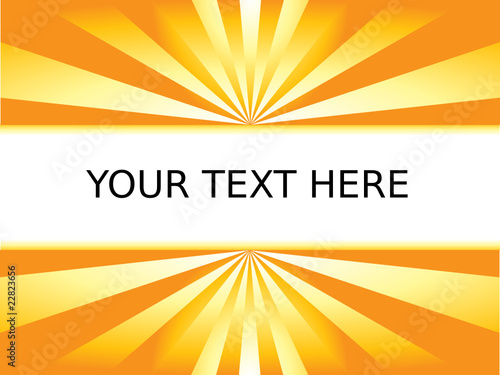 Sun Lights and Your Text