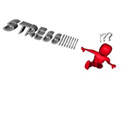 pupazzo stressato