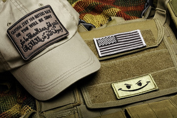 American paramilitary contractor equipment.