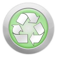 """Light colored Icon """"Recycling"""""""