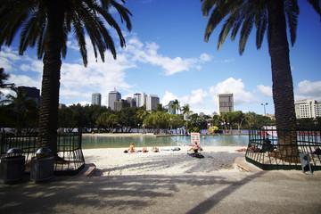 Brisbane; South Bank Beach