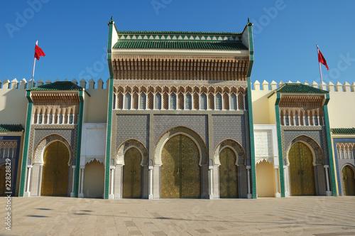 Königspalast Dar el Makhzen © RAY Fallbacher