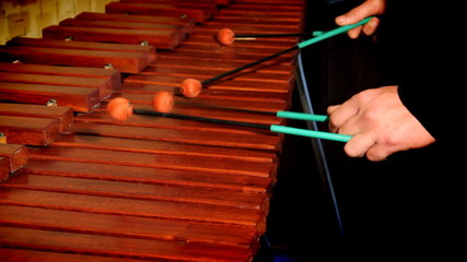 Xylophone playing