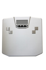 Silver weight scale with working path