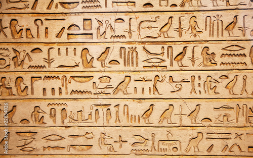 old egypt hieroglyphs - 22834026