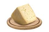 italian cheese Montasio, product of Friuli region poster