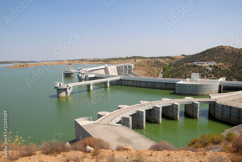 Aluminium Dam alqueva02