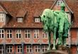 Leinwanddruck Bild - Reiterbrunnen Wolfenbüttel 4