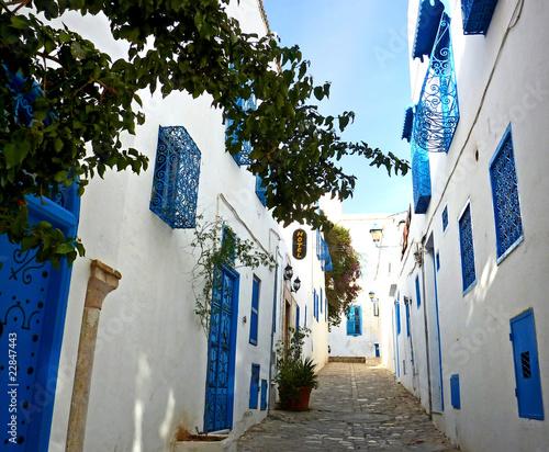 ulicy Sidi Bou Said