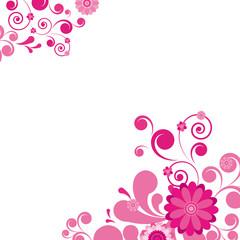 Vector. floral background.