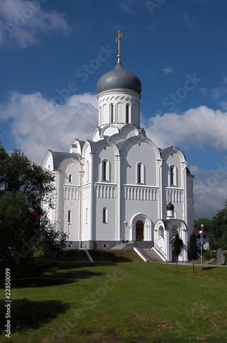 Pokrov's Church of the Victors' Avenue in Minsk