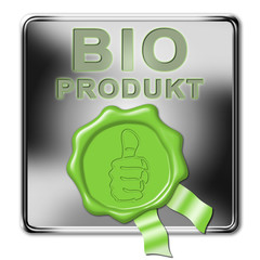 siegelbutton, bio, bioprodukt