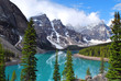 Moraine Lake in Banff National Park, Alberta, Canada - 22857690