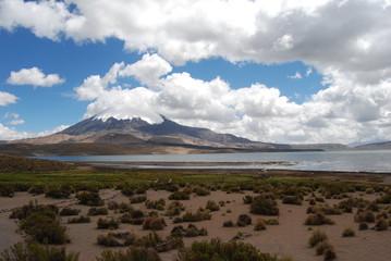 Parinacota Vulcano