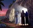 canvas print picture - He is Risen
