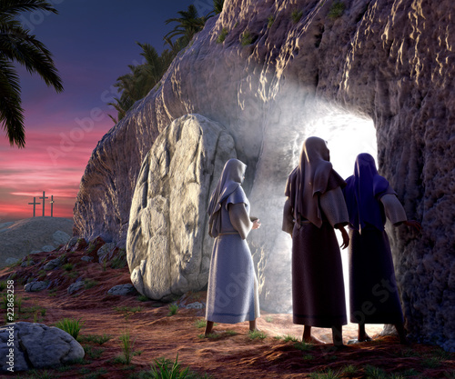 canvas print picture He is Risen