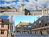 Tourisme en Bourgogne poster