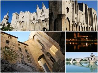 Dans la ville d'Avignon