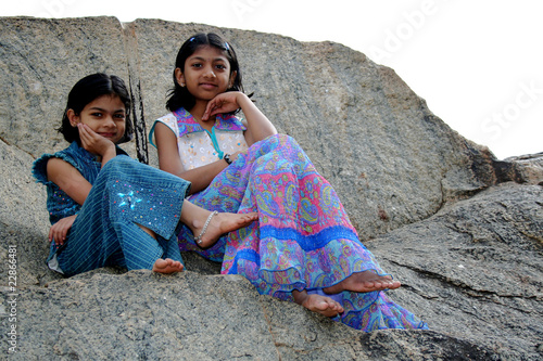 Sitting on Rock