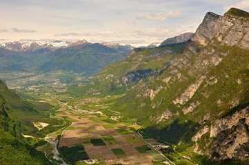 panorama tra Veneto e Trentino