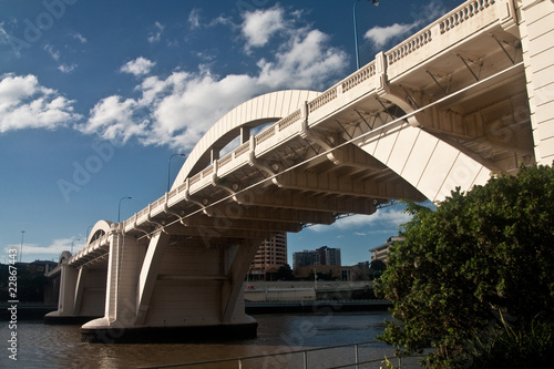 William Jolly bridge in Brisbane, close