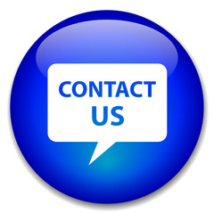 CONTACT US web button (speech bubble details business)