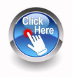 ''Click Here'' glossy icon