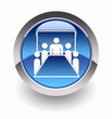 ''Meeting room'' glossy icon