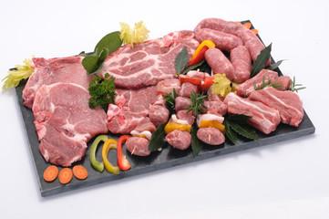 Grigliata di carne di maiale
