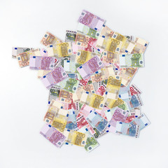 mappa francia banconote euro