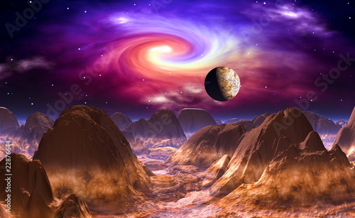 Fototapeten,3d,animation,landschaft,himmel