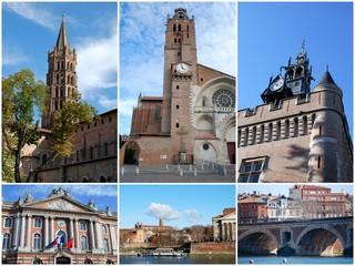 les clochers de Toulouse