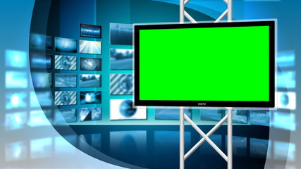 Virtual News Studio 8 Loop