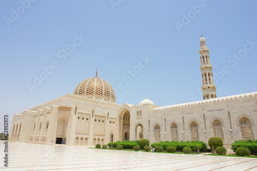 Muscat, Oman - Sultan Qaboos Grand Mosque