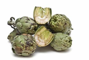 Alcachofas para la dieta.
