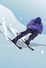 Make Way For The Skier