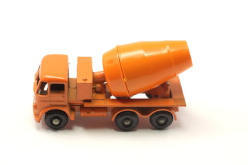 Orange Toy Cement Mixer