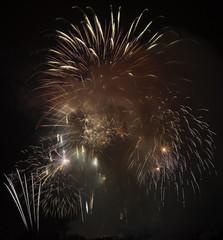 Sylvester-Feuerwerk
