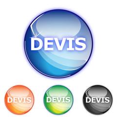 Picto DEVIS - Icon estimation - collection color