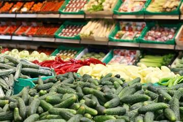 Big marketplace for vegetable