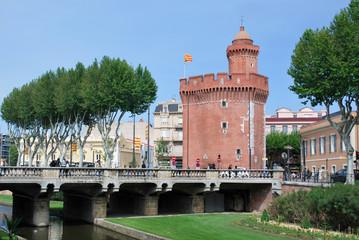 Le Castillet dans Perpignan