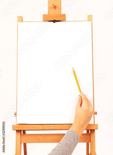 hand draws