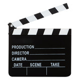 movie clapper with hand made clipping path