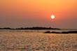 creta tramonto