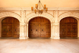 Majestic Classic Arched Doors with Chandelier